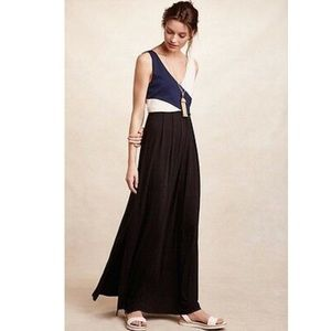 Anthropologie Maeve Small Elysian Maxi Dress